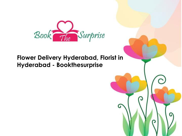 Flower Delivery Hyderabad, Florist in