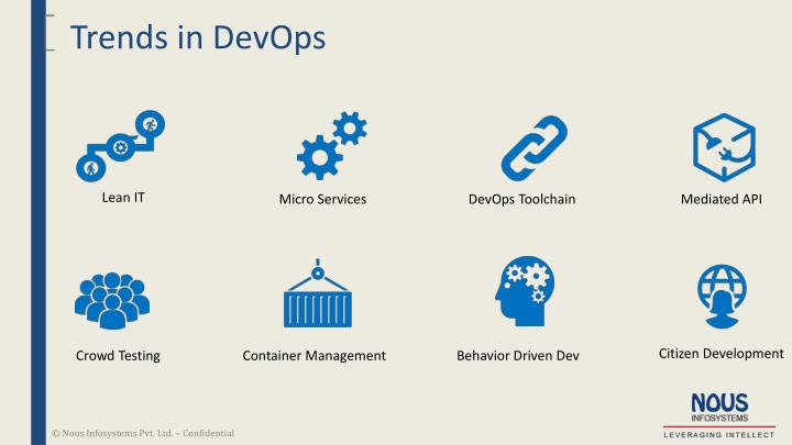 Trends in DevOps