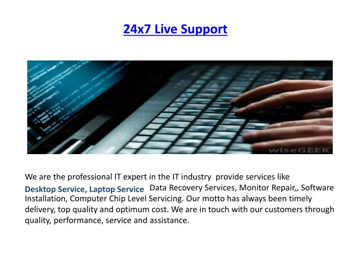 24x7 live support