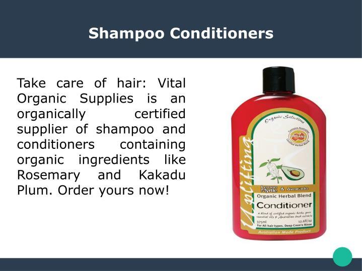 Shampoo Conditioners