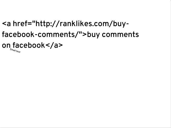 "<a href=""http://ranklikes.com/buy-"