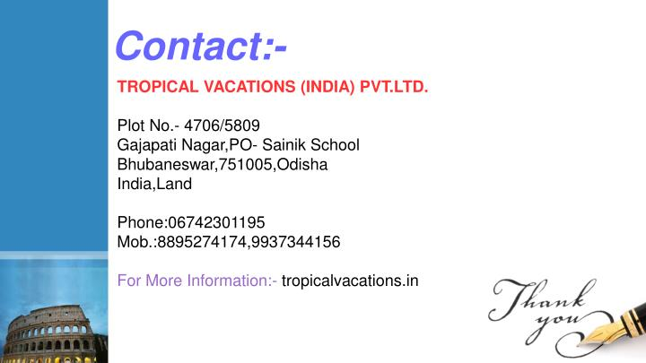 Contact:-