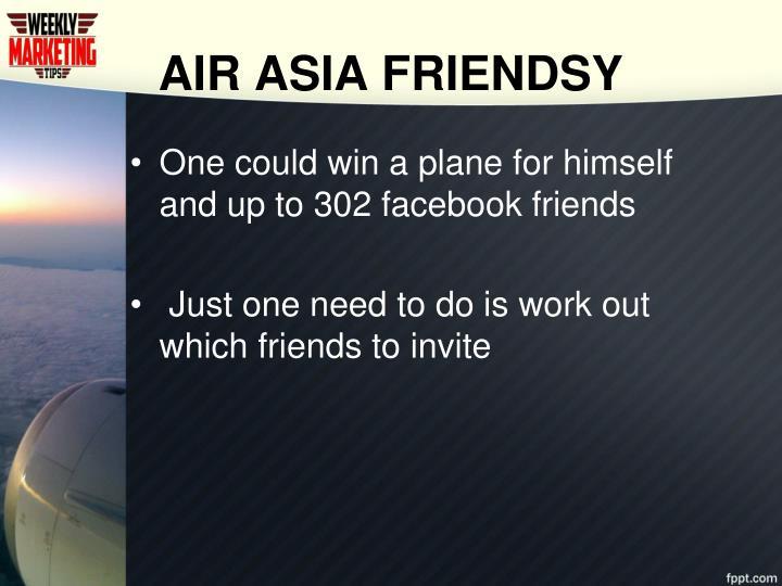 AIR ASIA FRIENDSY