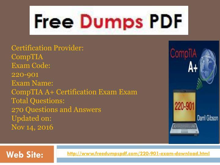 Certification Provider: