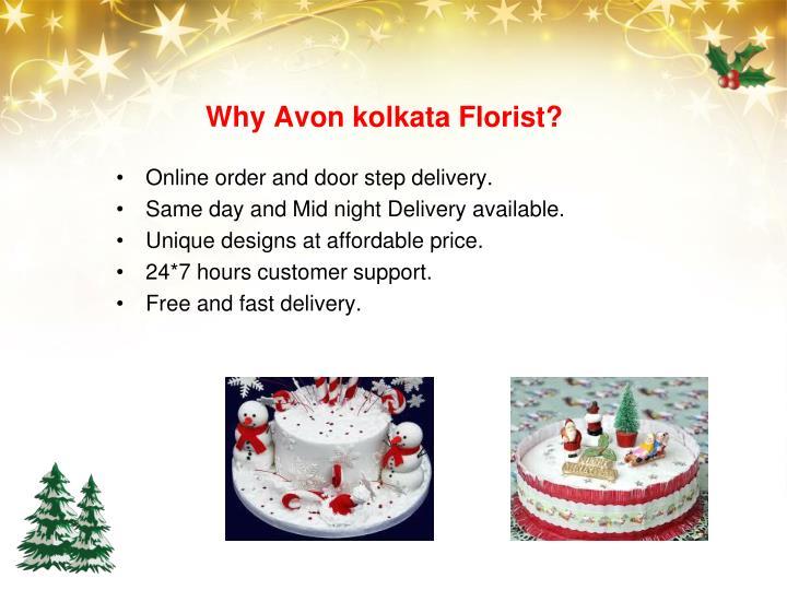 Why Avon kolkata Florist?