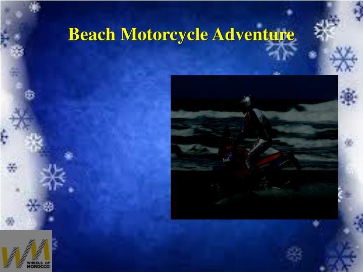 Beach Motorcycle Adventure