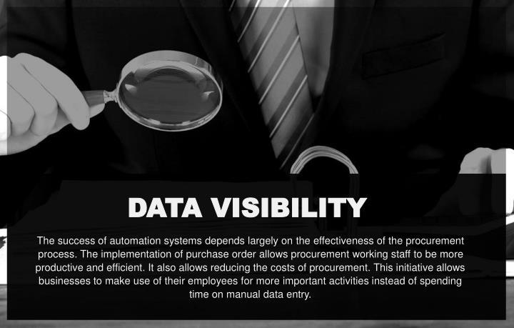 DATA VISIBILITY