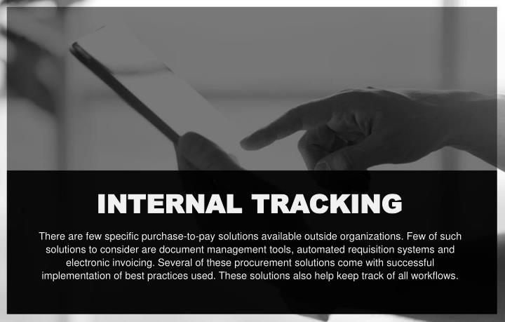 INTERNAL TRACKING