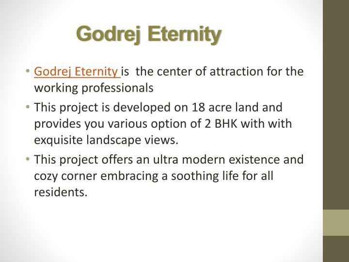 Godrej Eternity