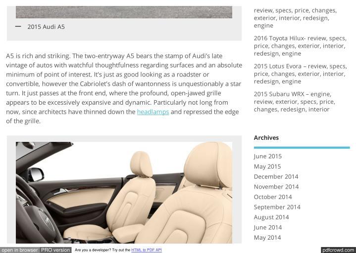 2015 Lincoln Continental –