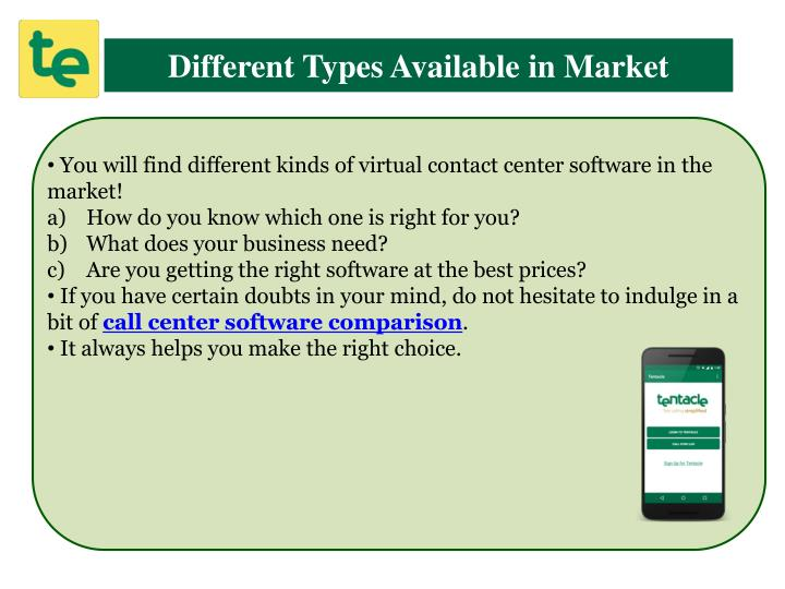 Different Types Available in Market