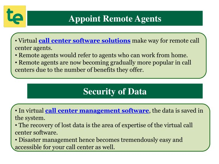 Appoint Remote Agents