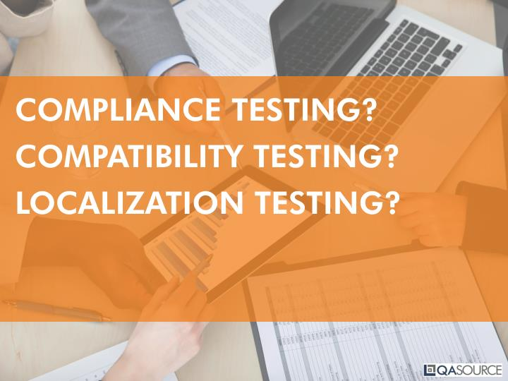 COMPLIANCE TESTING?