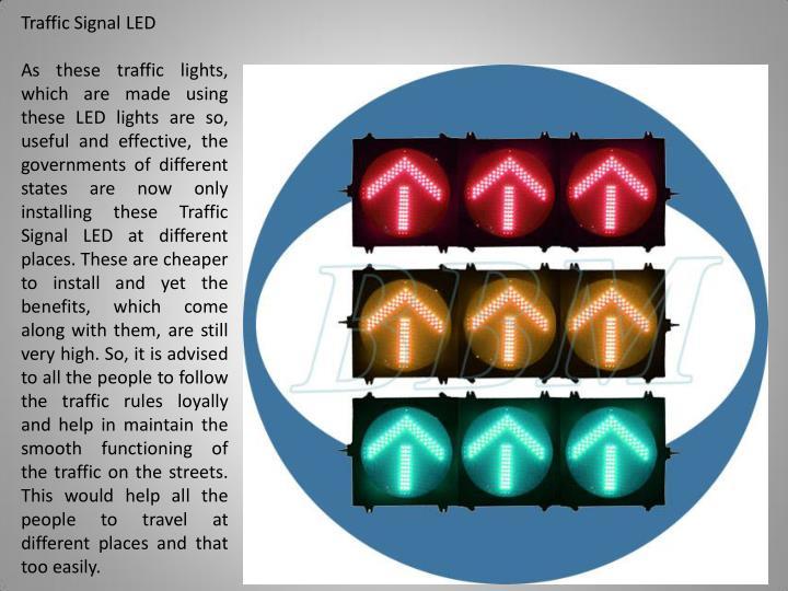Traffic Signal LED