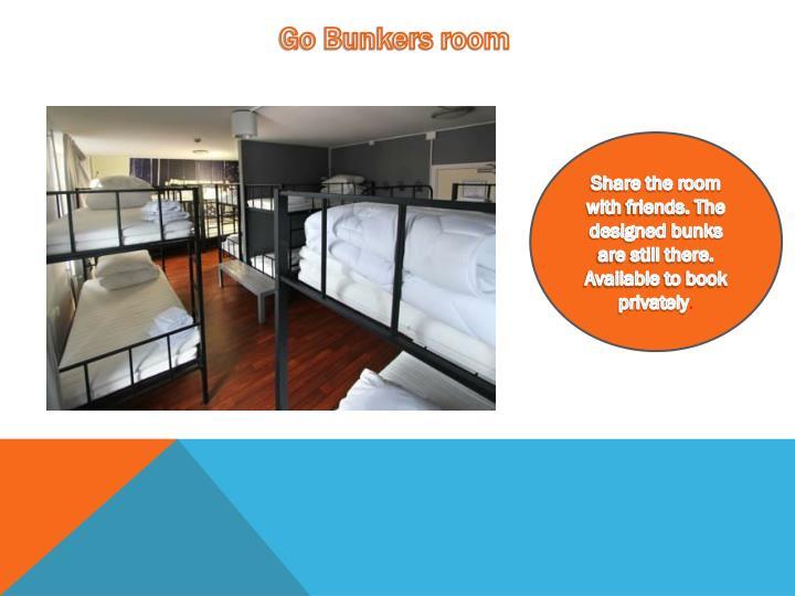 Go Bunkers room