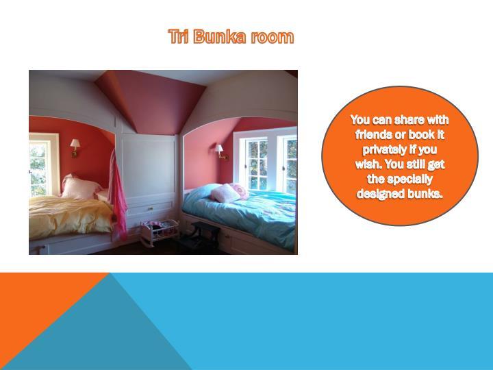 Tri Bunka room