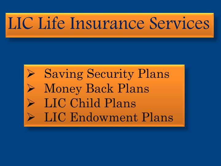 LIC Life Insurance Services