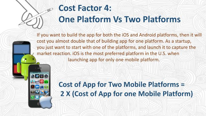 Cost Factor 4: