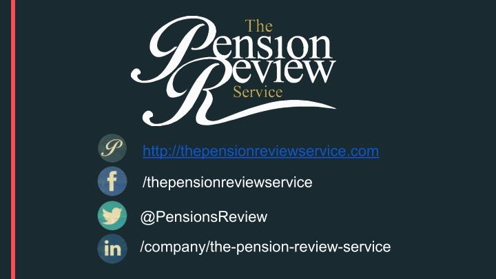 http://thepensionreviewservice.com