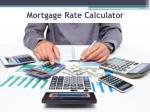 mortgage rate calculator