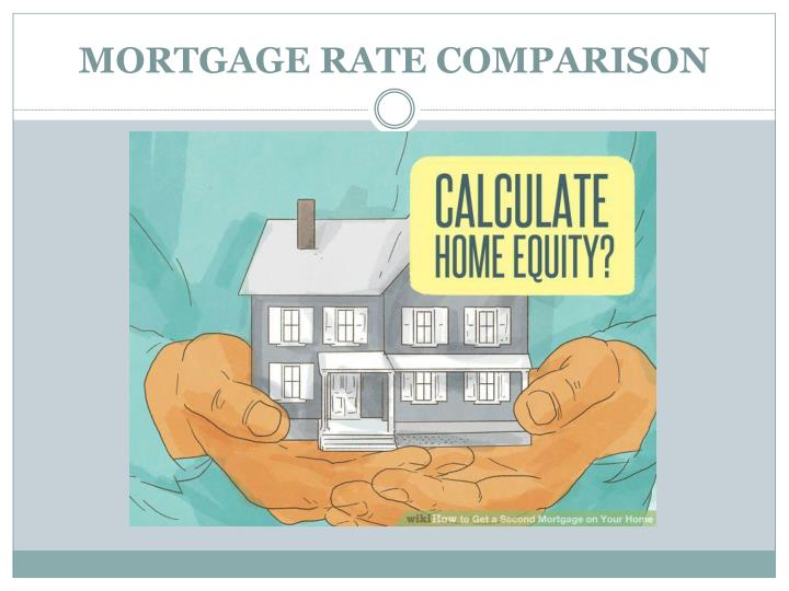MORTGAGE RATE COMPARISON