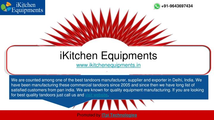 Ikitchen equipments www ikitchenequipments in
