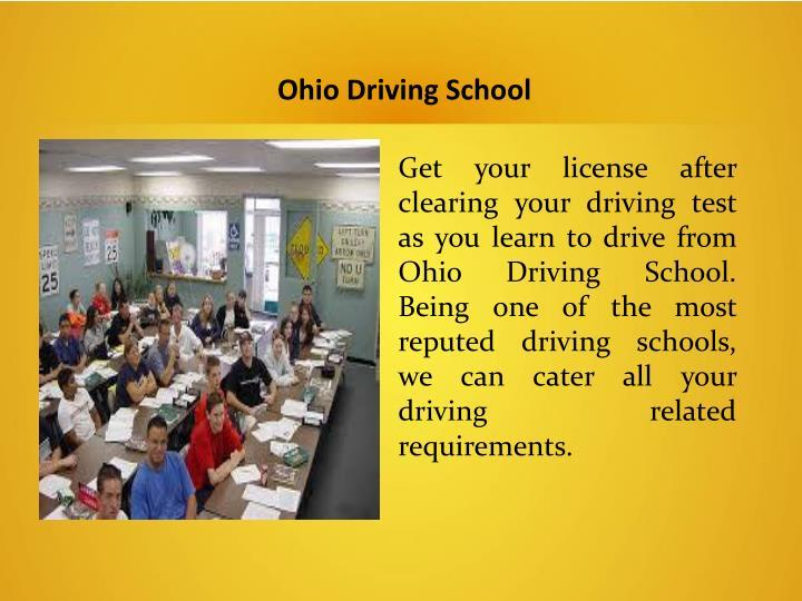 Ohio Driving School