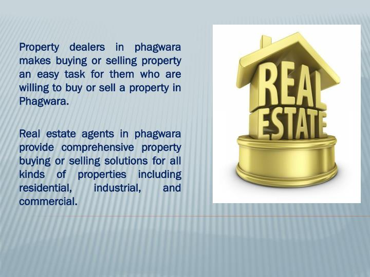 Property dealers in