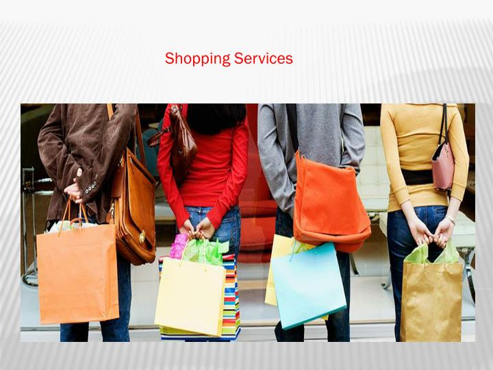 Shopping services