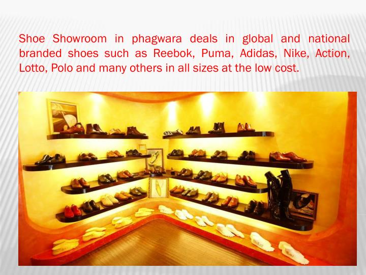 Shoe Showroom in