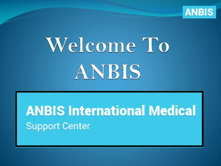 Welcome to anbis