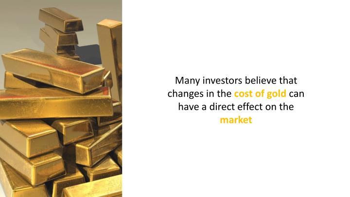 Many investors believe that changes in the