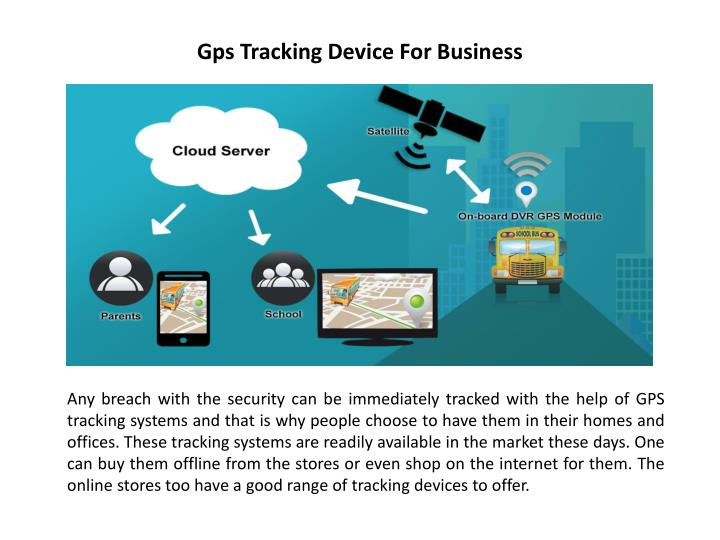 Gps tracking device for business