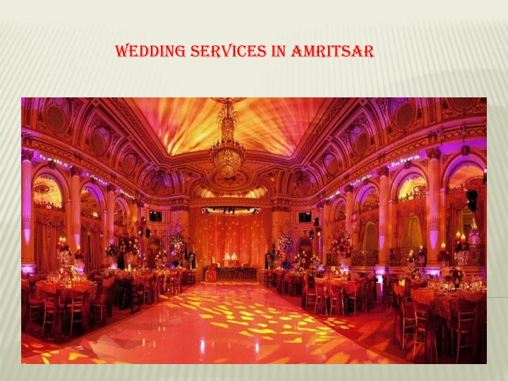 Wedding services in amritsar