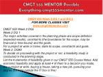 cmgt 555 mentor possible everything cmgt555mentor com3
