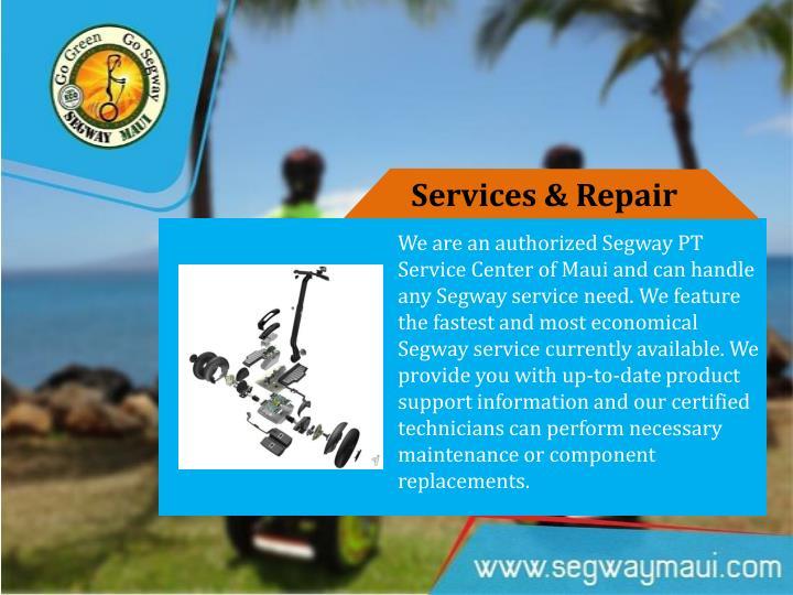Services & Repair