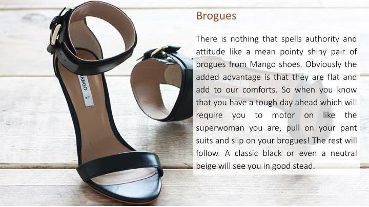 Brogues