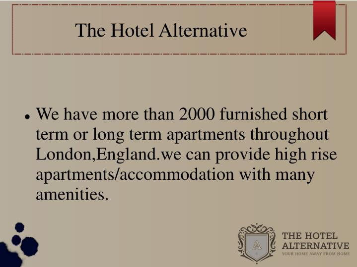 The hotel alternative1