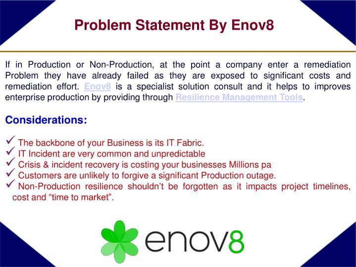 If in Production or Non-Production, at the point a company enter a remediation Problem they have already failed as they are exposed to significant costs and remediation effort.