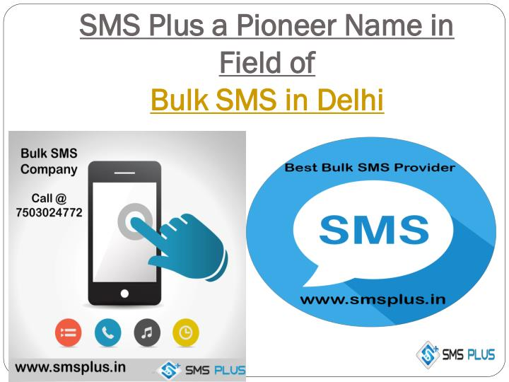 SMS Plus a Pioneer Name in Field of