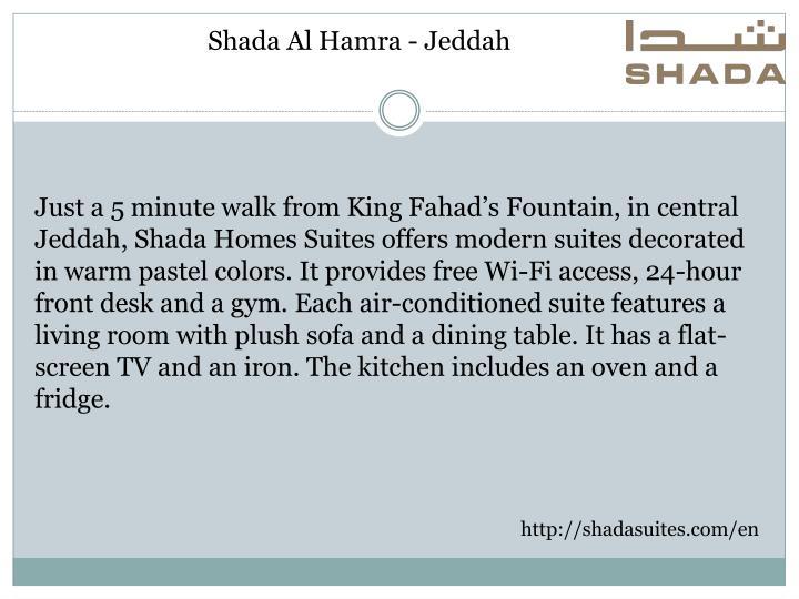 Shada Al Hamra - Jeddah