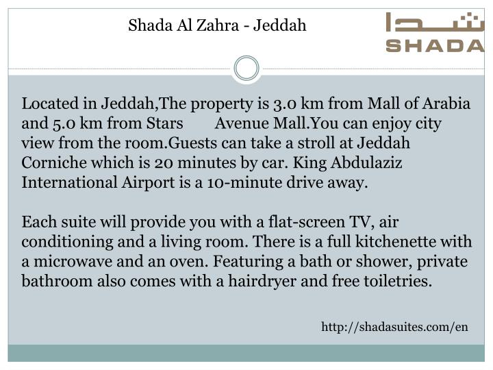Shada Al Zahra - Jeddah
