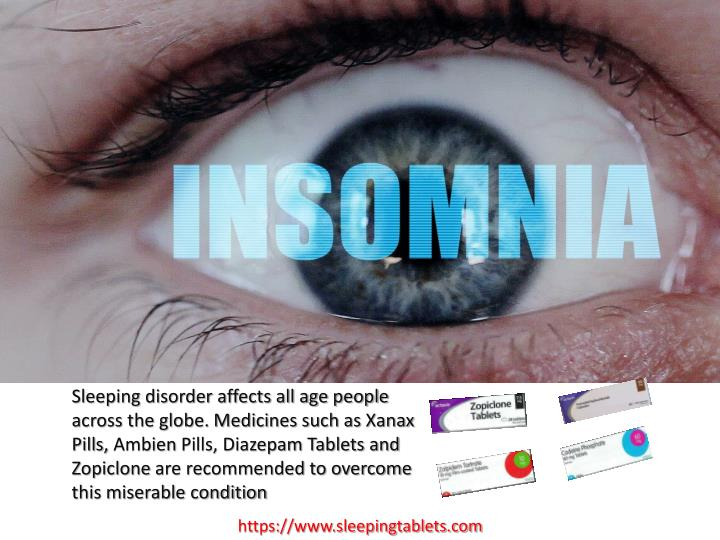 Sleeping disorder affects all age people across the globe. Medicines such as