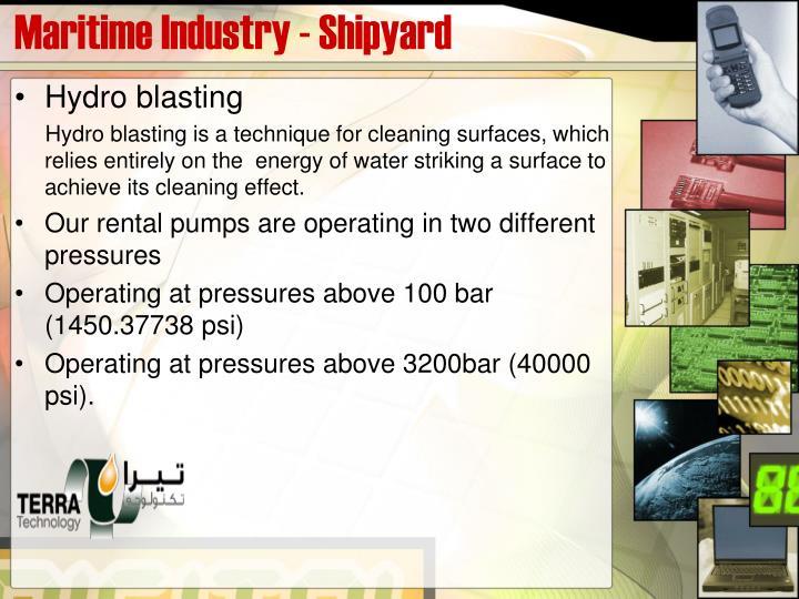 Maritime Industry - Shipyard