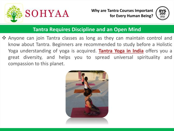 Why are Tantra Courses Important