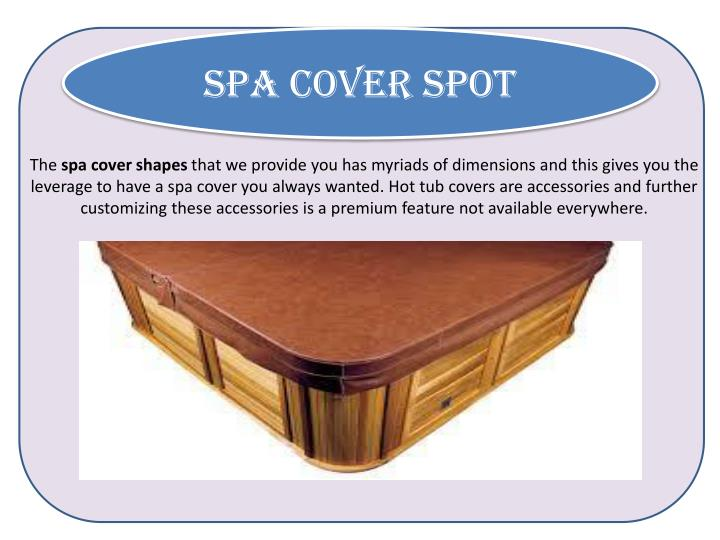 Spa Cover Spot