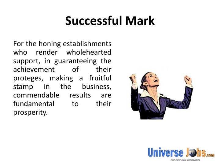 Successful mark