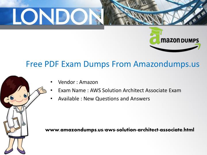 Free PDF Exam Dumps From Amazondumps.us