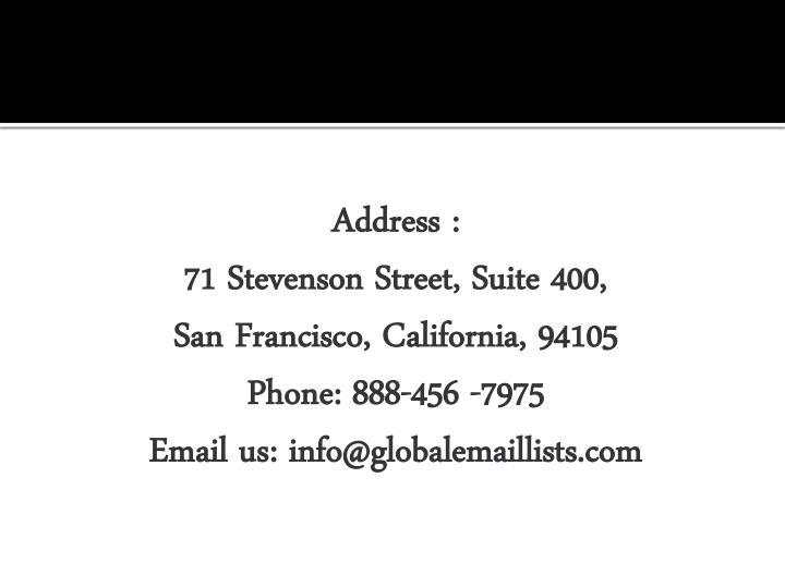 Address :
