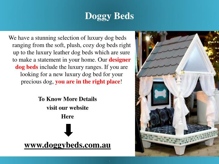 Doggy Beds